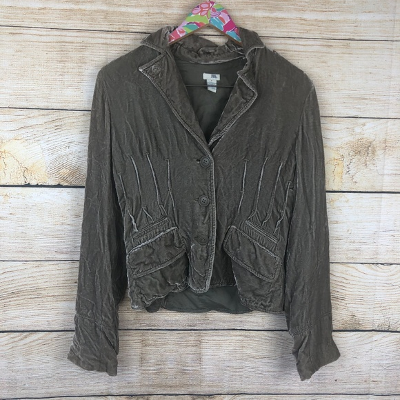 Anthropologie Jackets & Blazers - Anthro Odille velvet jacket size 8